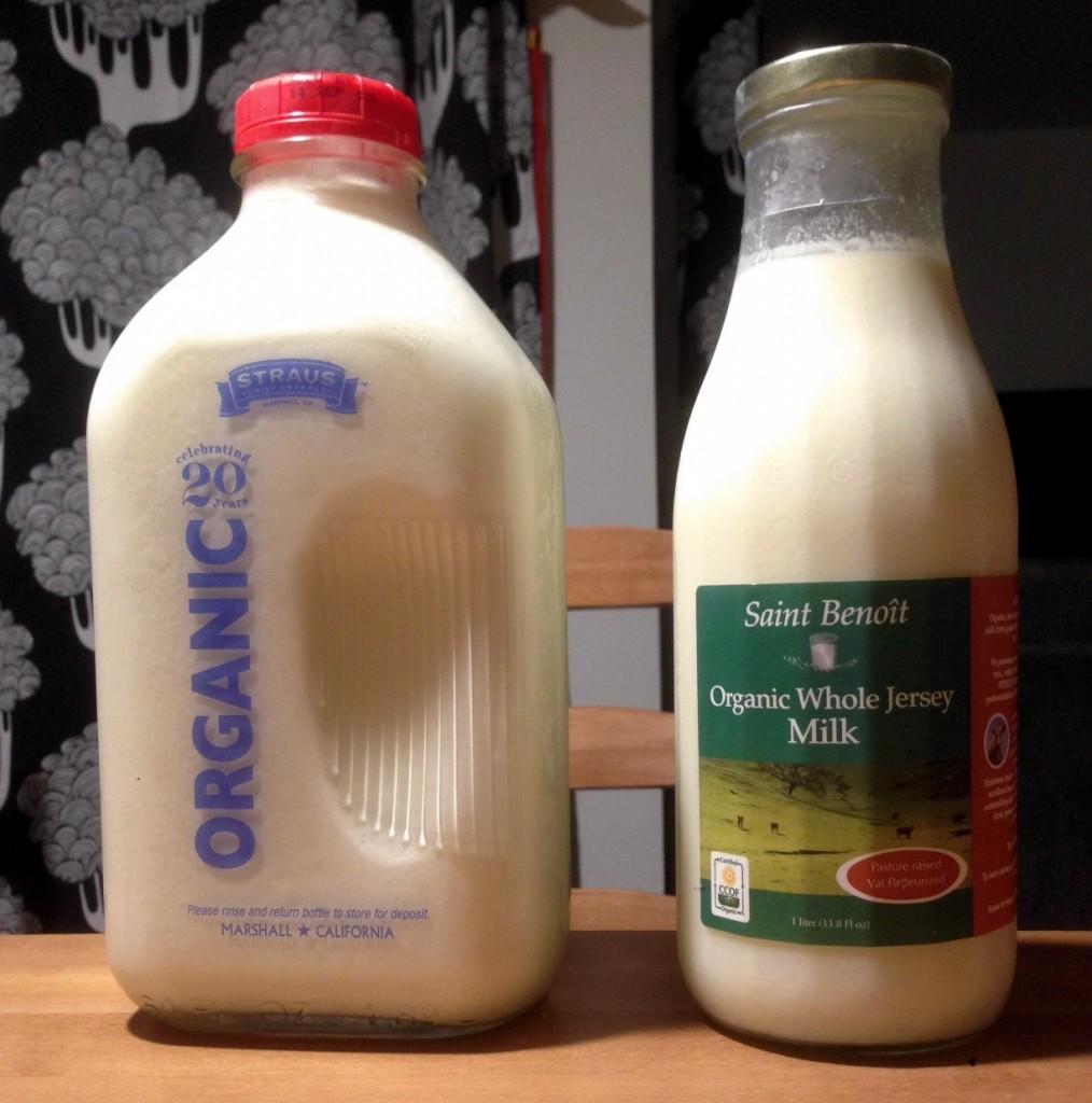 strauss and saint benoit milk